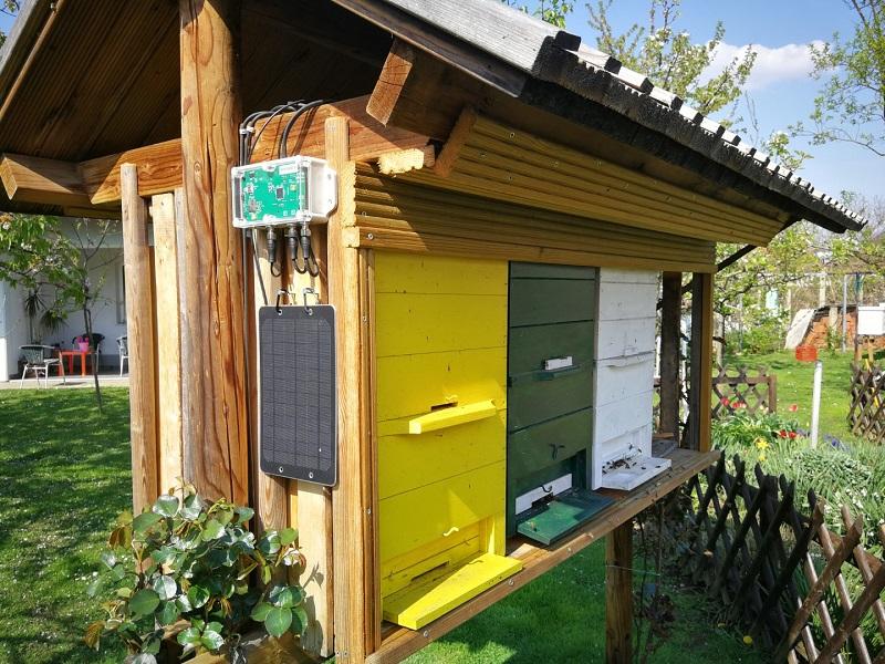 Fortschrittliche Technologie in Bienenstockwaage